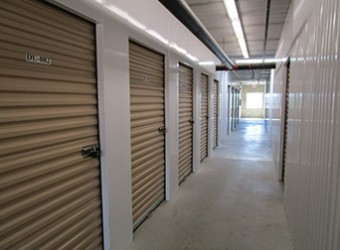 View of Dayton Self Storage Storage Units in Scarborough Central.