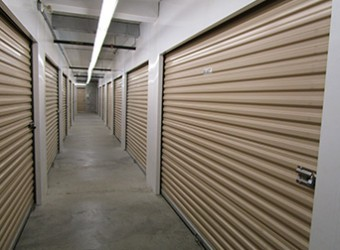 View of Dayton Self Storage Climate Controlled Units in Scarborough East.