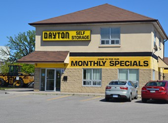 View of Dayton Self Storage Office in Scarborough Central.