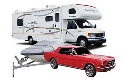 RV and car